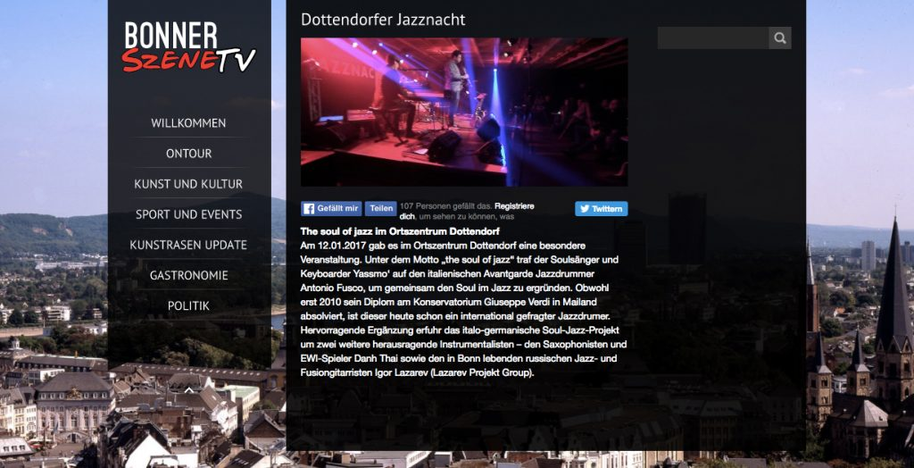 Dottendorfer Jazznacht - Bonner SzeneTV